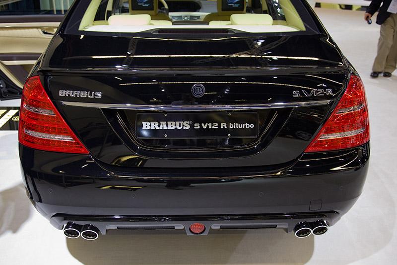 Brabus SV12R beschleunigt in 4,0 Sekunden von 0-100 km/h