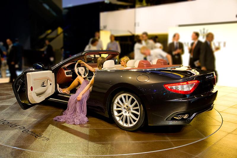 Weltpremiere in Frankfurt: Maserati Gran Cabrio