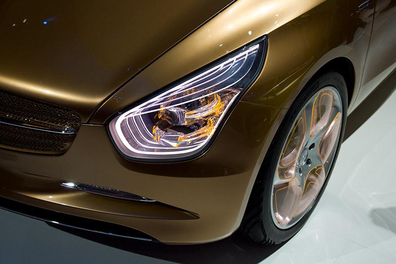 Mercedes E-CELL Blue Zero Concept - mit einem CO2-Ausstoß von 32 g/km
