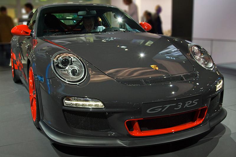 Porsche GT 3 RS mit 15 PS Mehrleistung gegenüber der Basisversion = 450 PS