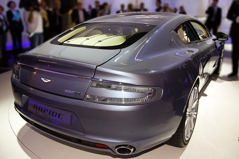 Aston Martin Rapide, das 4türige Pendant zum Porsche Panamera