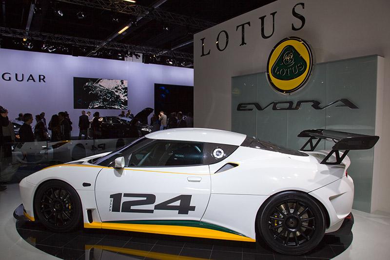 Lotus Endurance Racer Type 124, mit dieser speziellen Rennversion soll der Lotus am 24-Stunden-Rennen am Nürburging teilnehmen