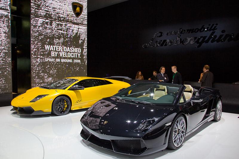 Lamborghini auf der IAA 2009