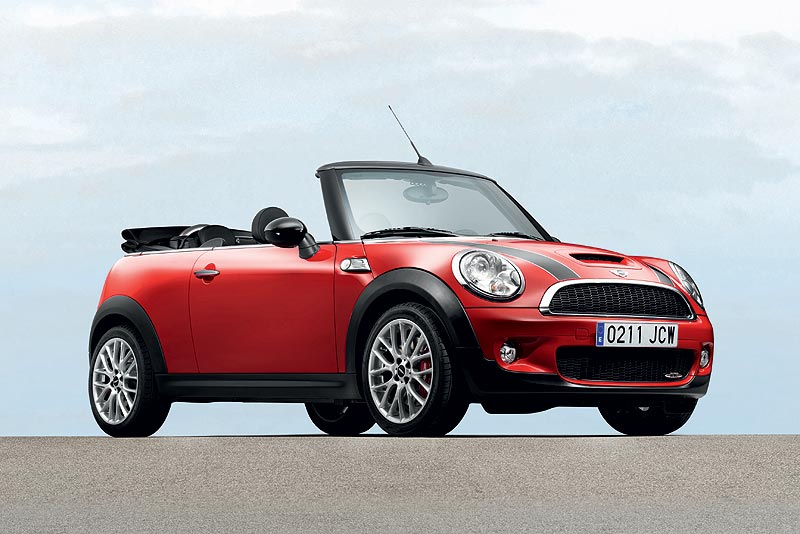 Das MINI John Cooper Works Cabrio