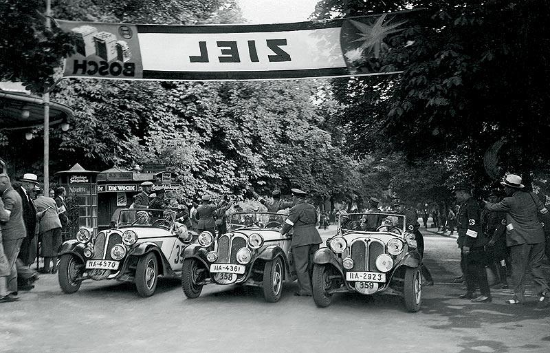 """Erfolg bei der """"2.000 Kilometer durch Deutschland"""": BMW 315/1, 1934"""