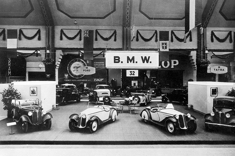Weltpremiere des BMW 315/1 auf der IAA 1934
