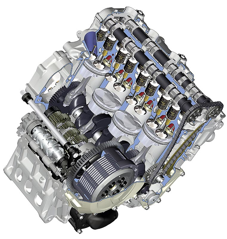 2011 Bmw M3: Foto: BMW Motorrad S 1000 RR, Motor Mit Ölpumpe (vergrößert