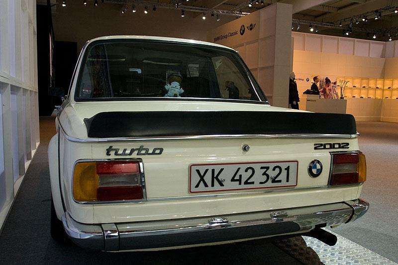 BMW 2002 turbo auf der Techno Classica 2009 in Essen