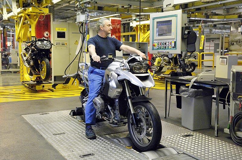 BMW Werk Berlin ABS-Prüfstand