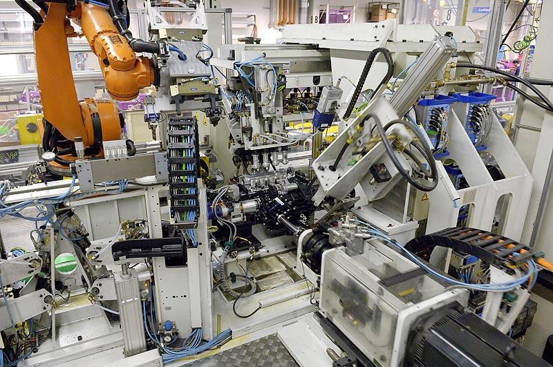 BMW Werk Berlin Kalt- und Getriebetest