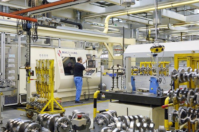 BMW Werk Berlin Kurbelwellenfertigung