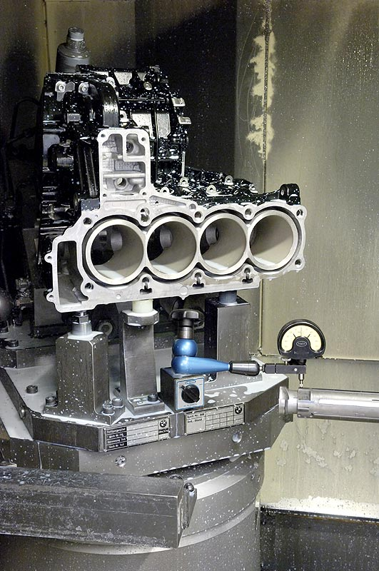 BMW Werk Berlin Motorenfertigung