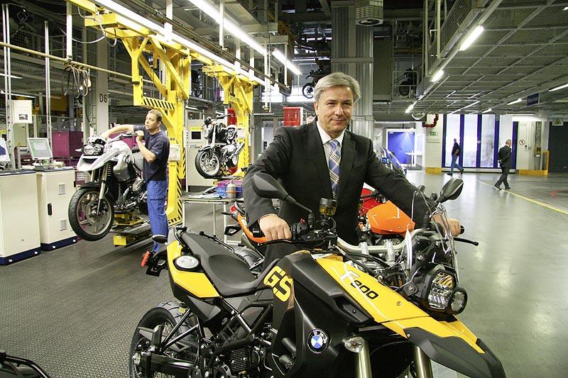 40 Jahre Motorradfertigung im BMW Werk Berlin: Klaus Wowereit, regierender Bürgermeister von Berlin