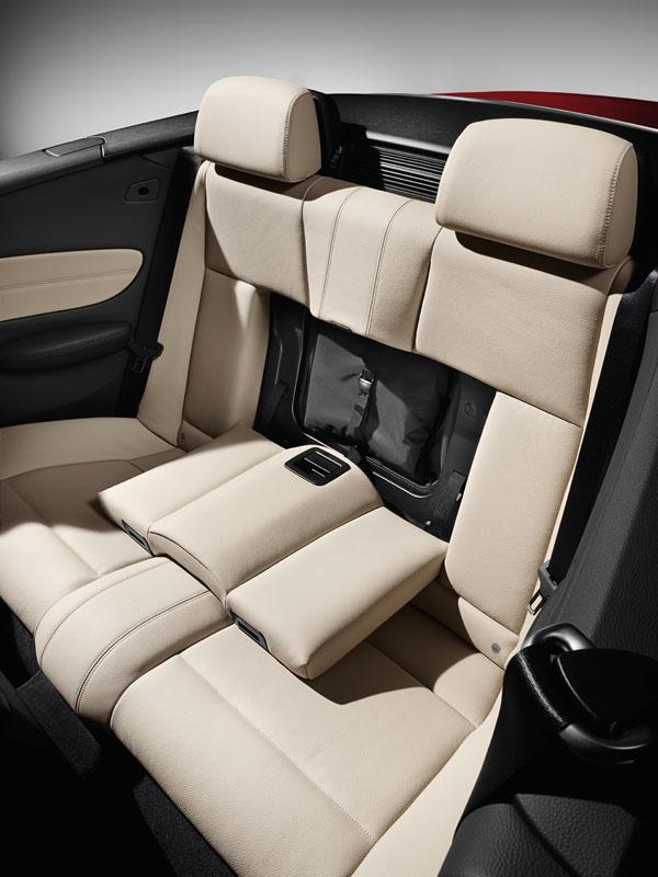 BMW 1er Cabrio, Durchladesystem