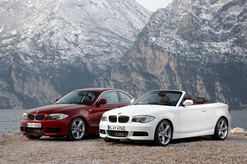 Das neue BMW 1er Coupé. Das neue BMW 1er Cabrio