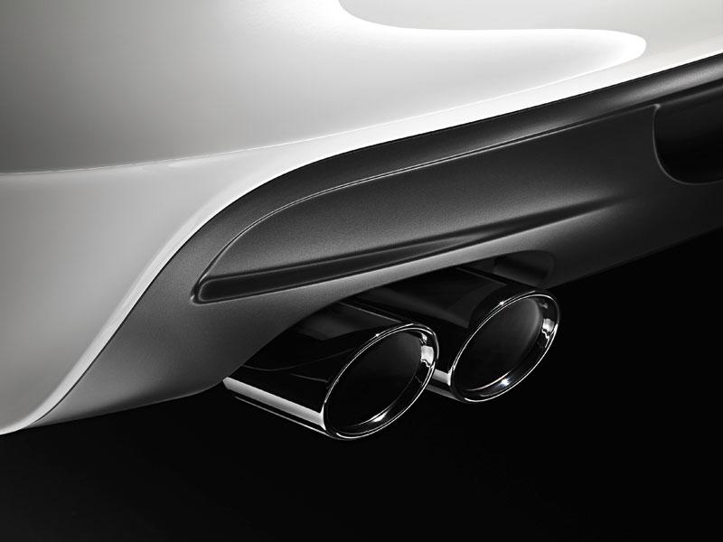 BMW 135i Coupé, Auspuff-Endrohre