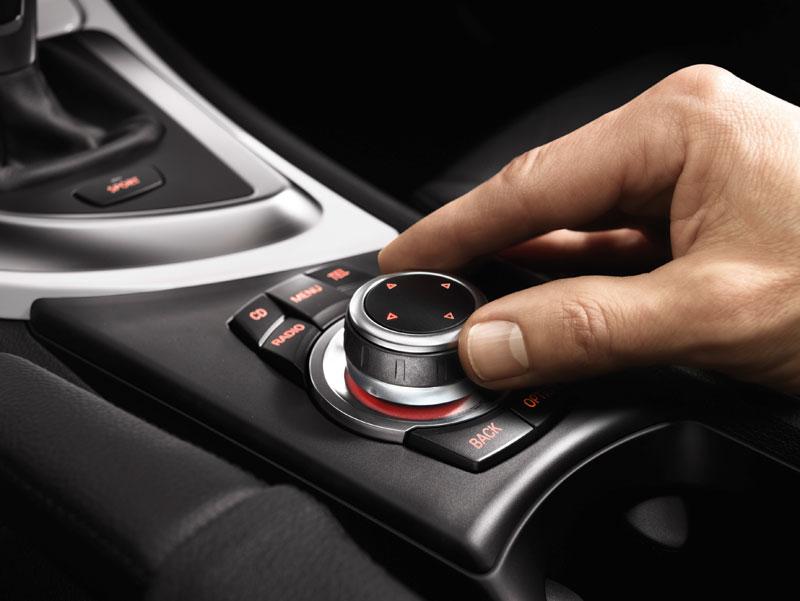 BMW 1er Coupé und BMW 1er Cabrio, iDrive Controller