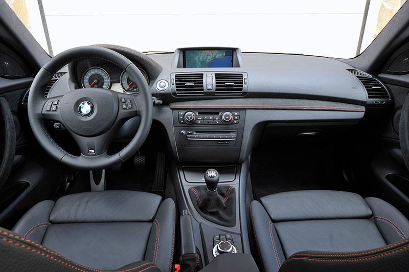 Foto BMW 1er M Coupe Cockpit Vergrert