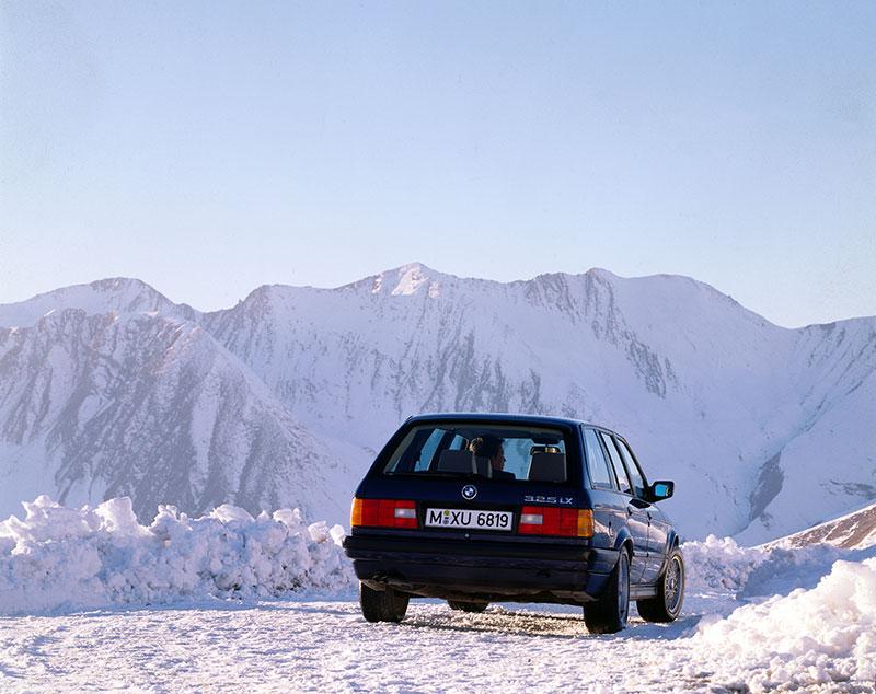 25 Jahre Allradantrieb bei BMW: BMW 325ix Touring (Modell E30)