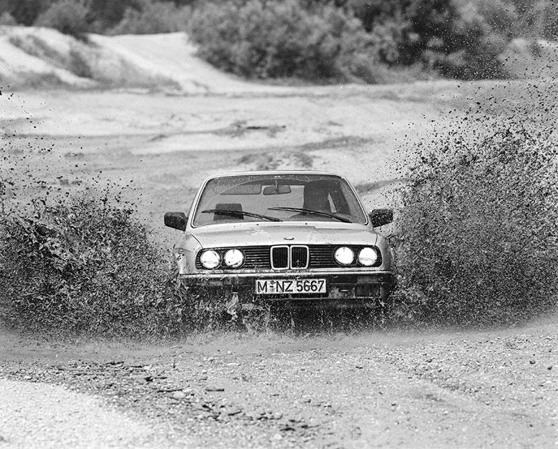 BMW 3er der Modellreihe E30 - als erster BMW mit Allradantrieb lieferbar gewesen