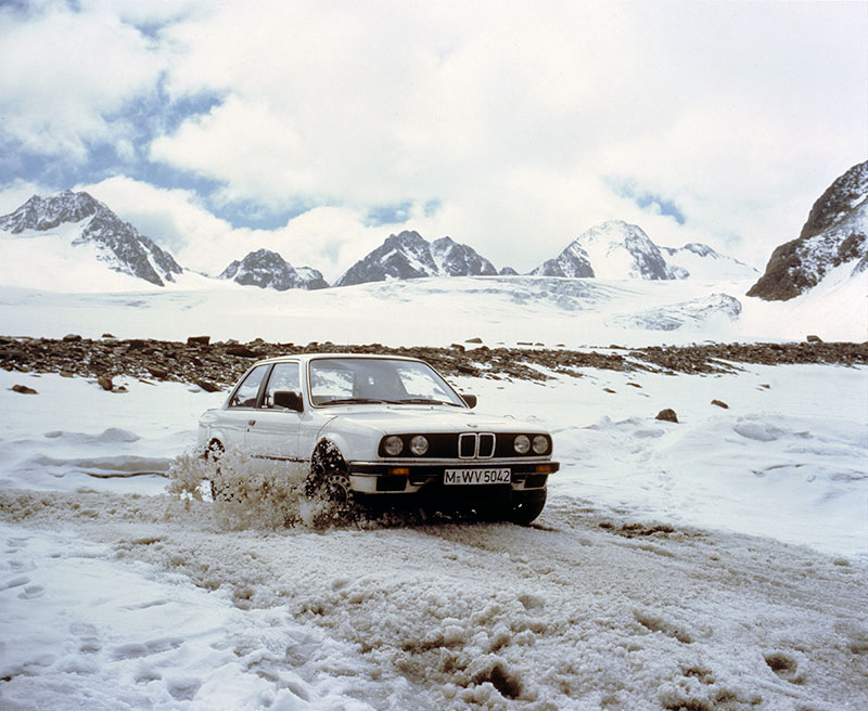 BMW 3er mit Allradantrieb, Modell E30
