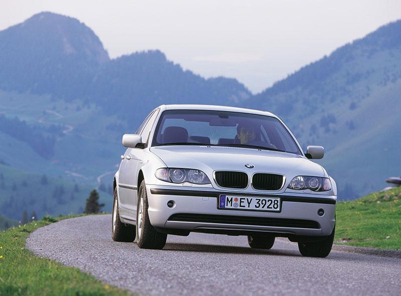 BMW 3er-Reihe (Modell E46) - ebenfalls mit Allradantrieb lieferbar gewesen