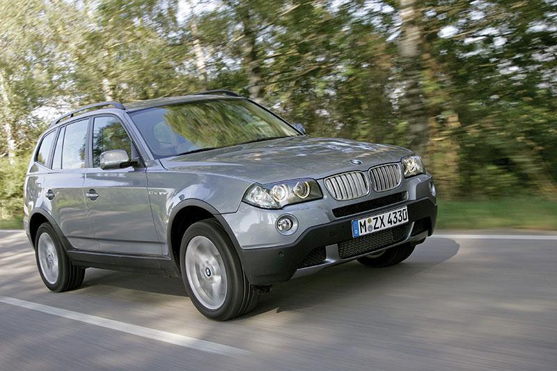 BMW X3 3.0sd der ersten X3-Generation E83 (Faceliftmodell