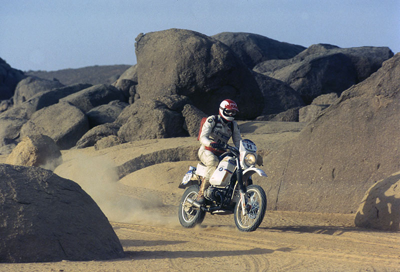 Paris-Dakar 1984, BMW R 80 G/S