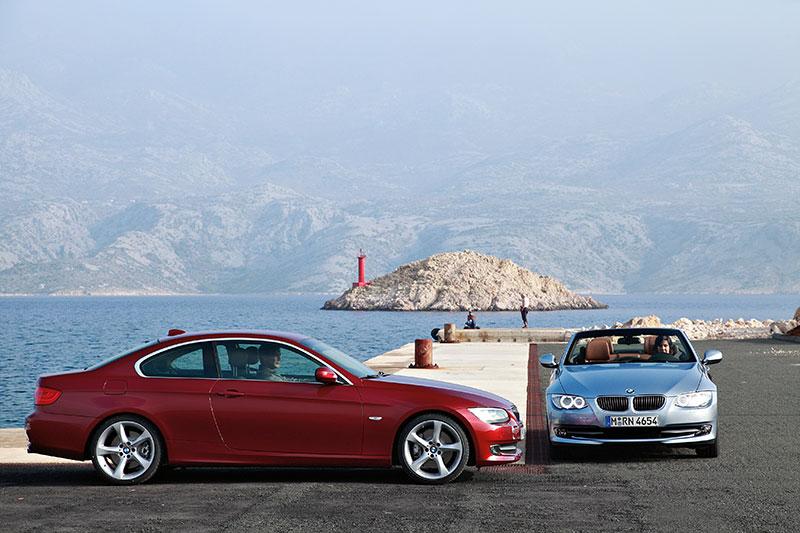 BMW 3er Cabrio, Faceliftmodell E93 und BMW 3er Coupé, Faceliftmodell E92