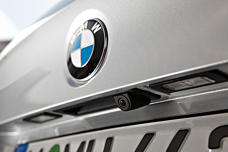 BMW 5er mit Rückfahrkamera, Modell F10, ab 2010