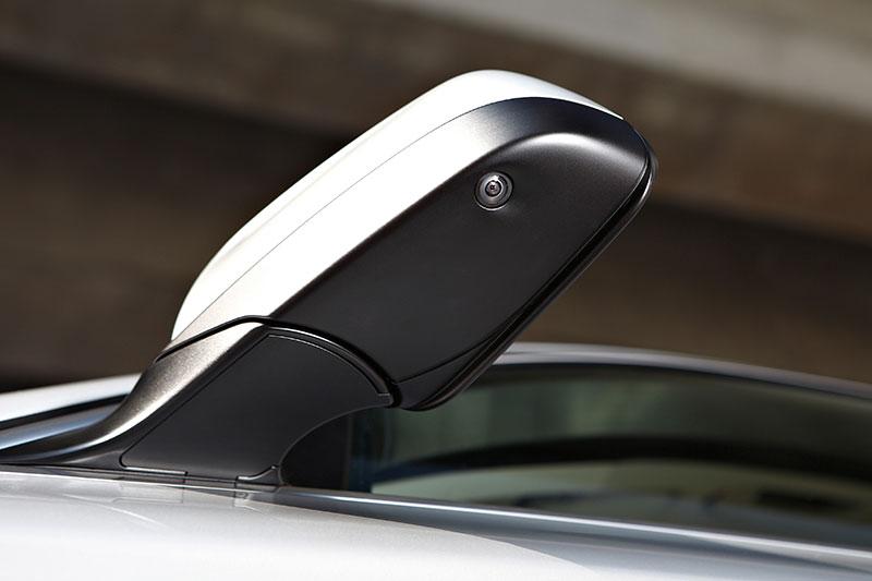 BMW 5er, Modell F10, ab 2010, Kamera im Außenspiegel für Birdview