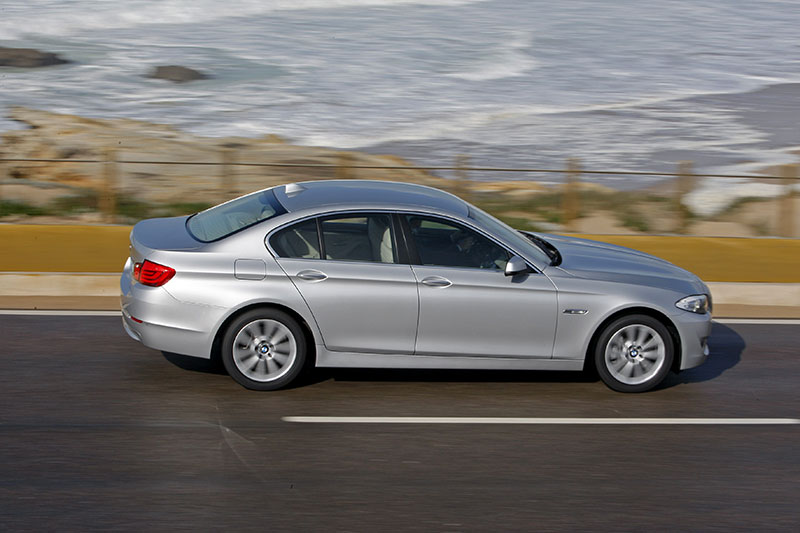 BMW 5er on location in Portugal, Modell F10, ab 2010