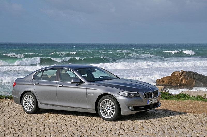 BMW 5er on location in Portugal, Modell F10, ab 2010