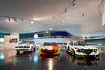 Blick in das bmw museum mit seiner art car ausstellung robert