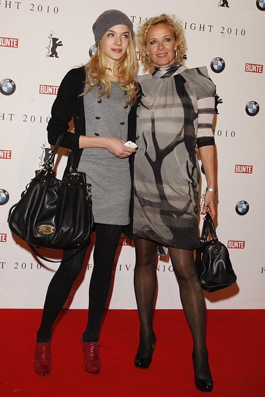 Foto Katja Riemann Und Tochter Paula Vergr 246 223 Ert