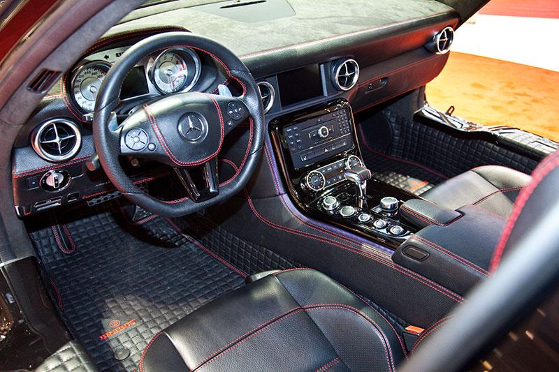Brabus SLS AMG Star, Cockpit