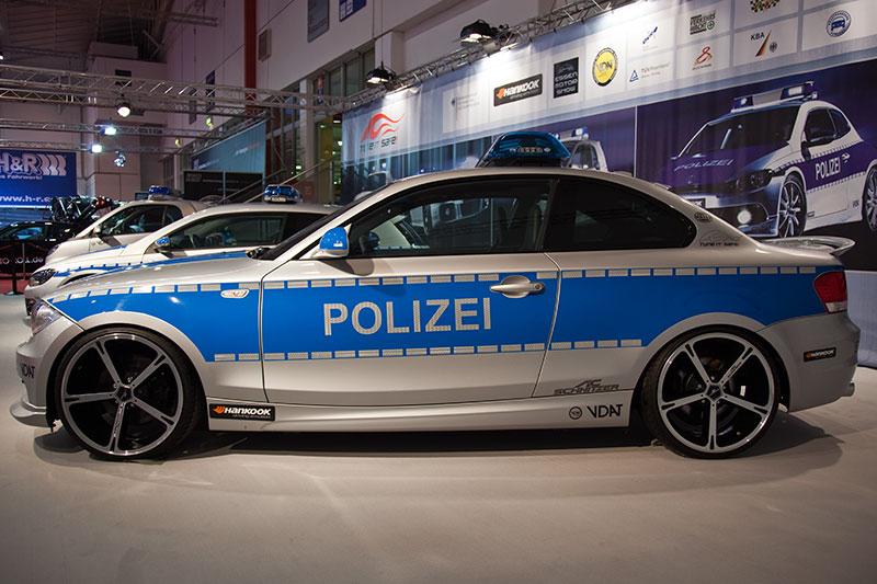 AC Schnitzer ACS1 2.3d (Basis BMW 123d Coupé) als Polizei-Einsatzwagen