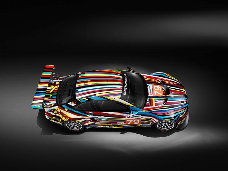 Jeff Koons 17. BMW Art Car, 2010 (BMW M3 GT2)