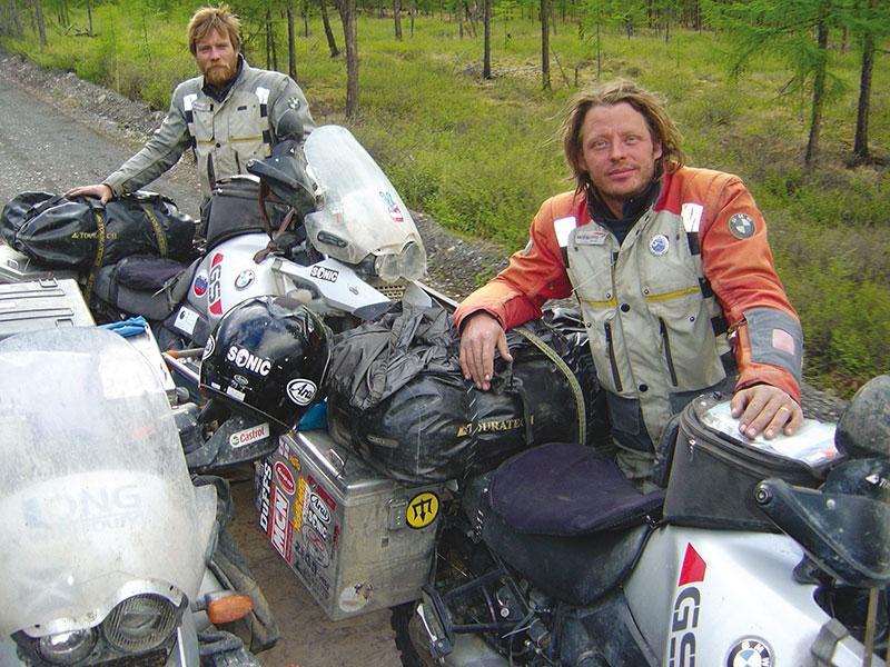 30 Jahre BMW Motorrad GS, Charles Boreman
