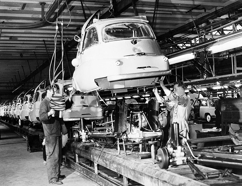 Produktion BMW Isetta