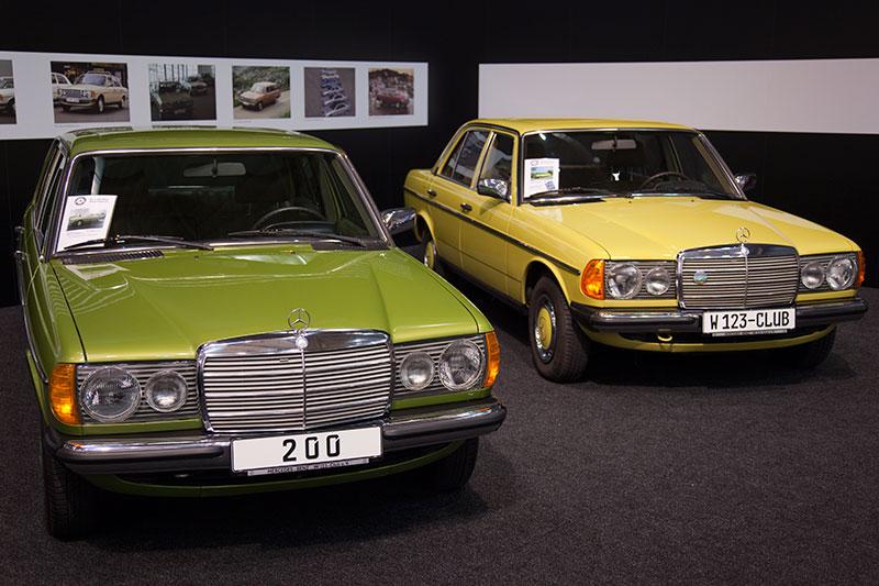 Foto Mercedes W123 Club Vergrößert