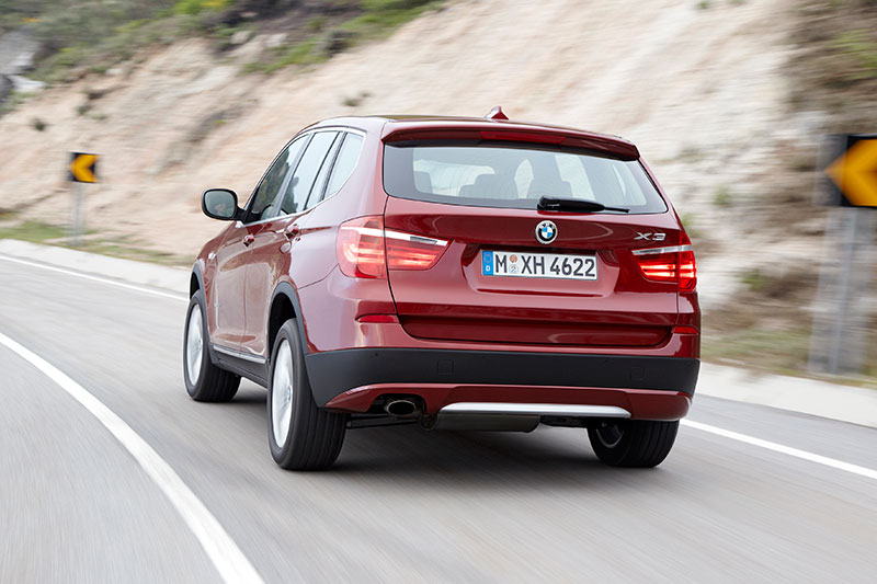 BMW X3, Modell F25, ab 2010