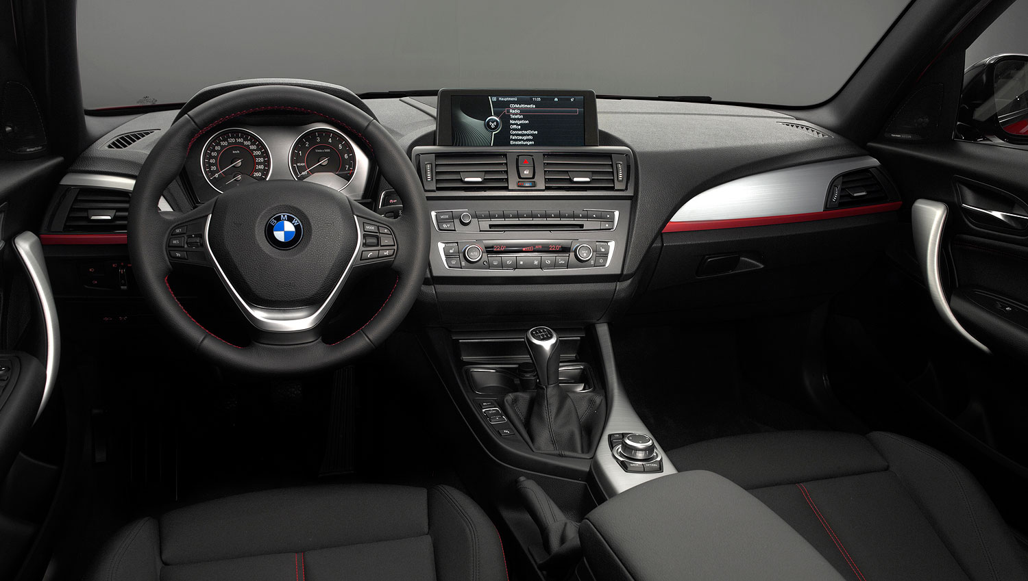 foto bmw 1er reihe sport line interieur vergr ert. Black Bedroom Furniture Sets. Home Design Ideas