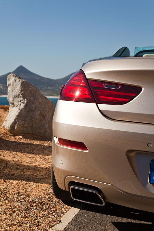 BMW 650i Cabrio.