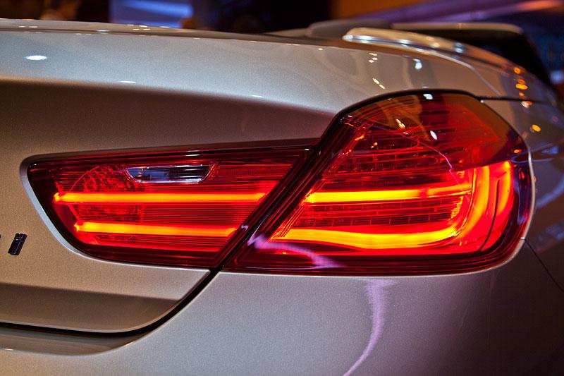 typisches BMW Rücklicht am BMW 6er Cabrio
