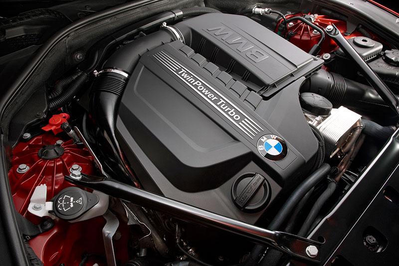 BMW 640i Coupe, 6-Zylinder-Motor mit BMW Twin-Turbo Technologie