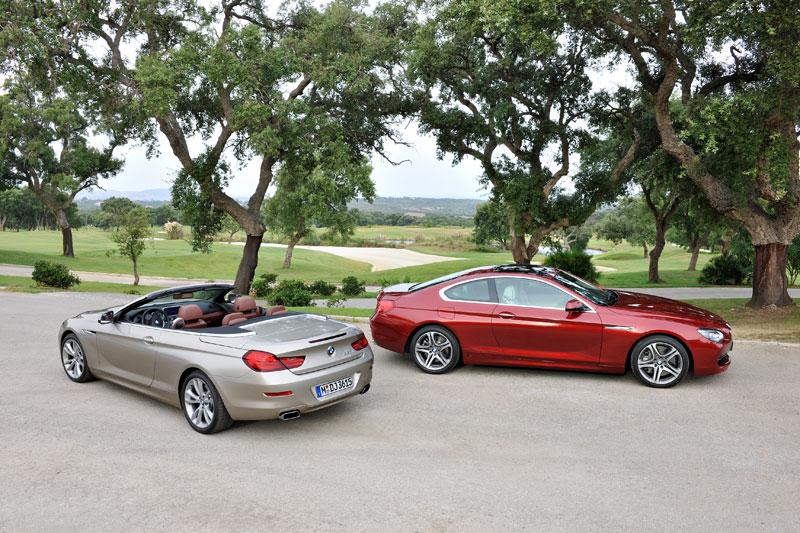 BMW 6er Coupe (F13) mit dem neuen BMW 6er Cabrio (F12)