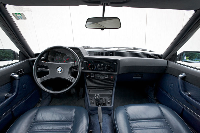 Foto bmw 635 csi e24 baujahr 1981 interieur vergr ert for Interieur 635 csi