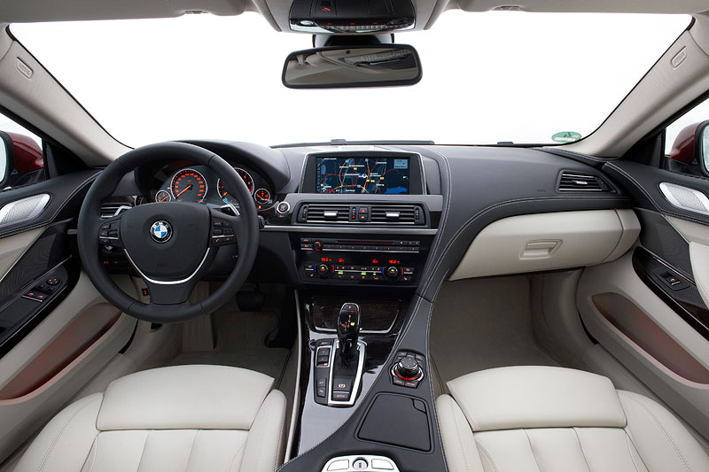 BMW 640i Coupe, Inneraum