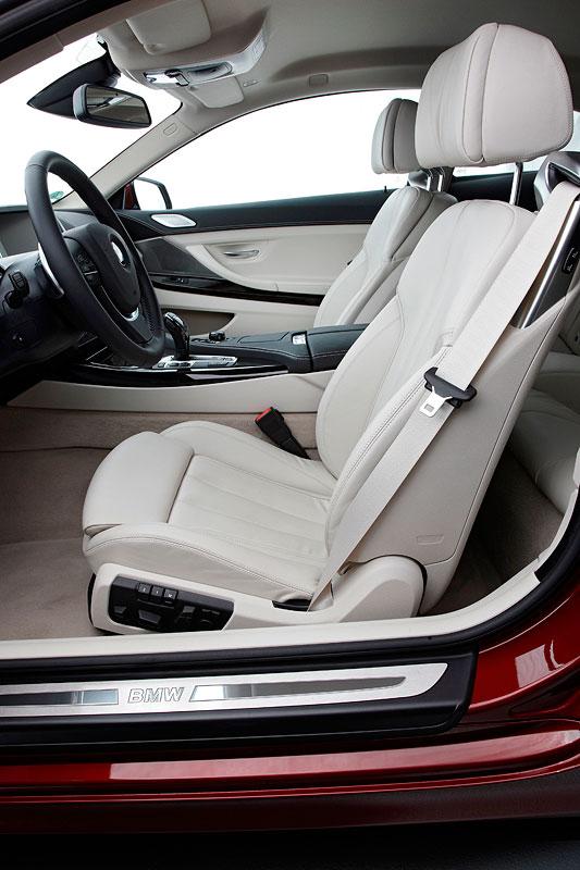 BMW 640i Coupe, Sitze vorne